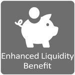 Enhanced liquidity Benefit